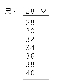 下拉式選單範例